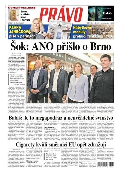 Právo - 10-10-2018 - Elektronické noviny