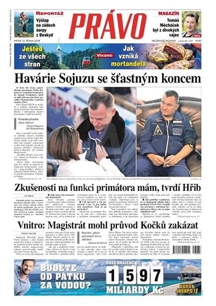 Právo - 12-10-2018 - Elektronické noviny