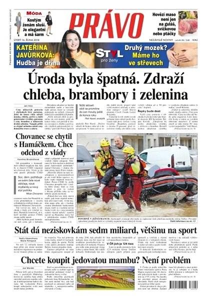 Právo - 16-10-2018 - Elektronické noviny