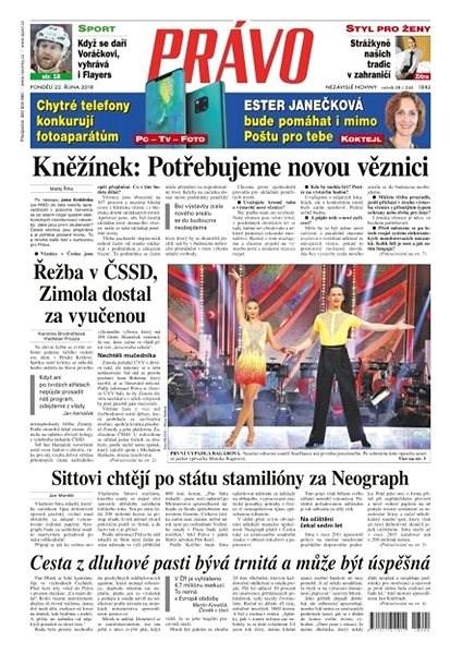 Právo - 22-10-2018 - Elektronické noviny