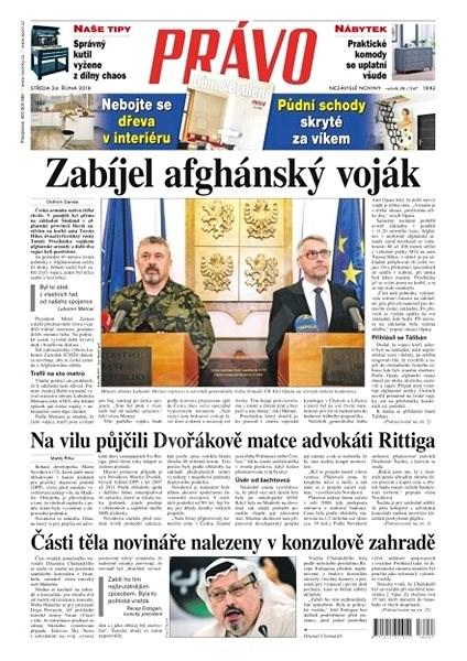 Právo - 24-10-2018 - Elektronické noviny