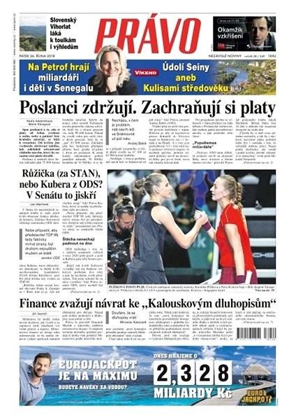 Právo - 26-10-2018 - Elektronické noviny