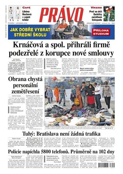 Právo - 01-11-2018 - Elektronické noviny