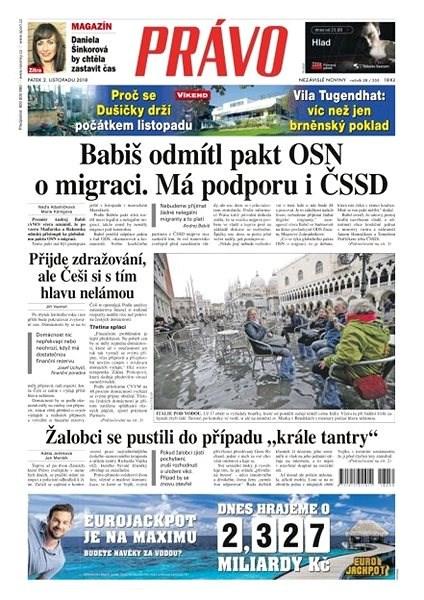 Právo - 02-11-2018 - Elektronické noviny