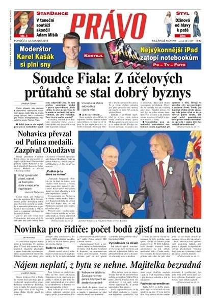 Právo - 05-11-2018 - Elektronické noviny