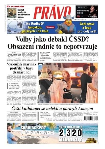 Právo - 09-11-2018 - Elektronické noviny