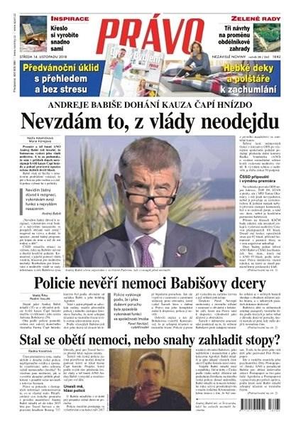 Právo - 14-11-2018 - Elektronické noviny