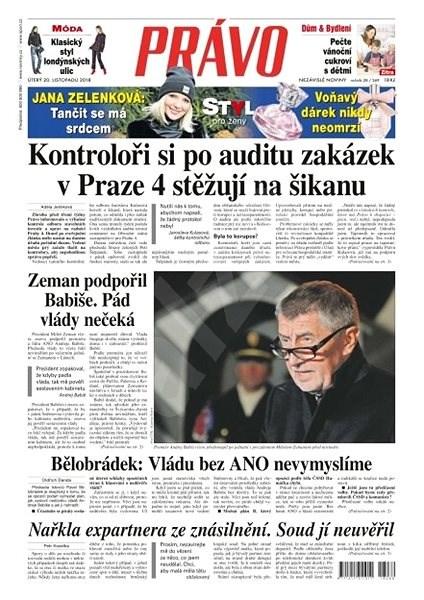 Právo - 20-11-2018 - Elektronické noviny