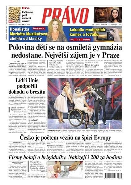 Právo - 26-11-2018 - Elektronické noviny