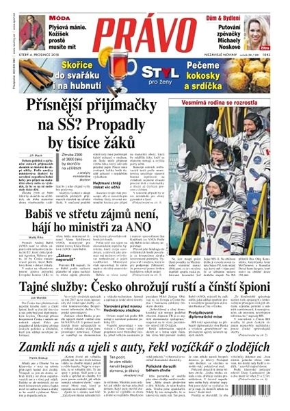 Právo - 04-12-2018 - Elektronické noviny