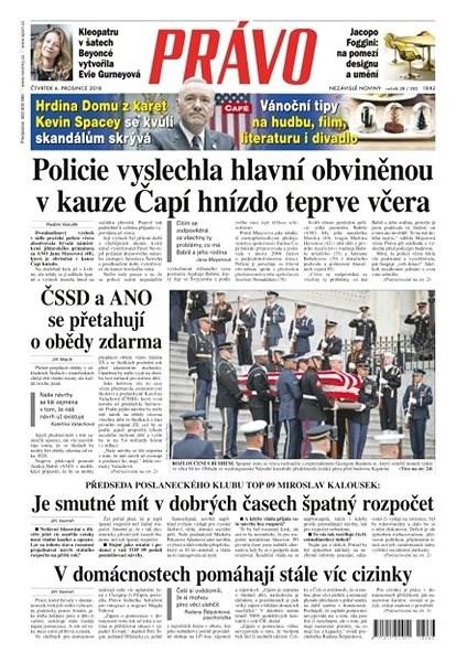 Právo - 06-12-2018 - Elektronické noviny