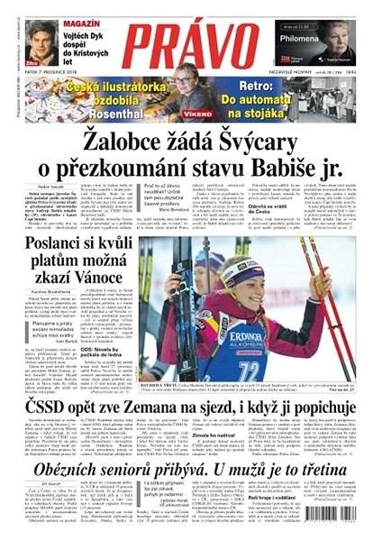 Právo - 07-12-2018 - Elektronické noviny