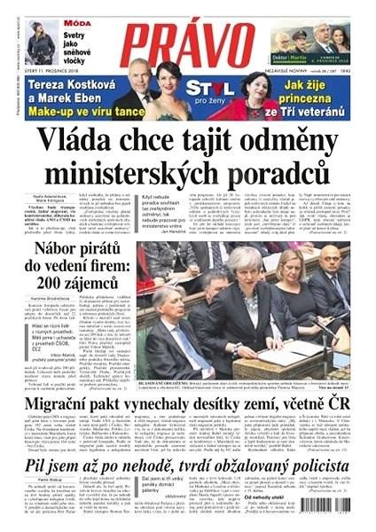 Právo - 11-12-2018 - Elektronické noviny