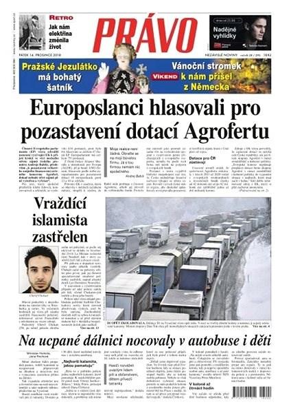 Právo - 14-12-2018 - Elektronické noviny