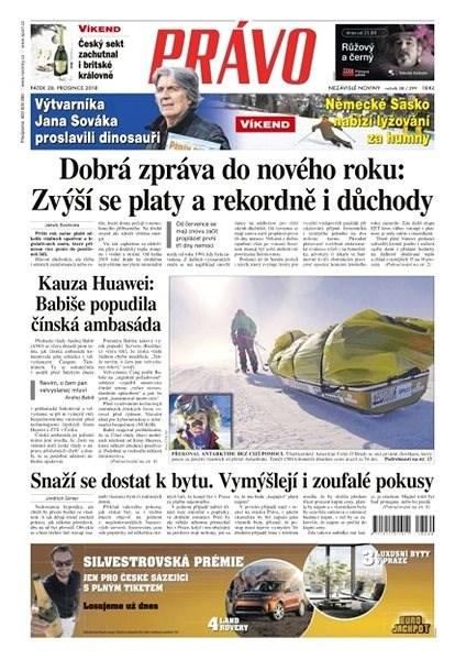 Právo - 28-12-2018 - Elektronické noviny