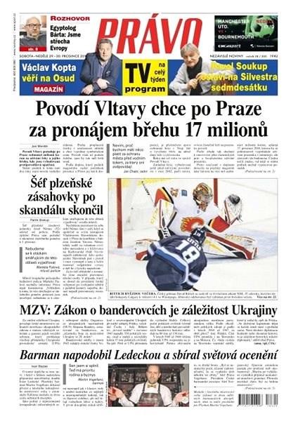 Právo - 29-12-2018 - Elektronické noviny