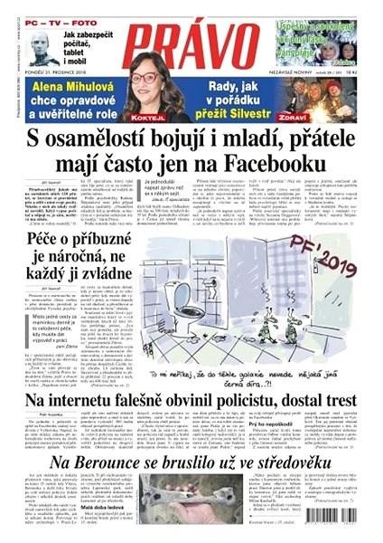 Právo - 31-12-2018 - Elektronické noviny