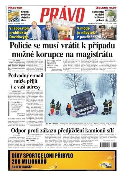 Právo - 09-01-2019 - Elektronické noviny