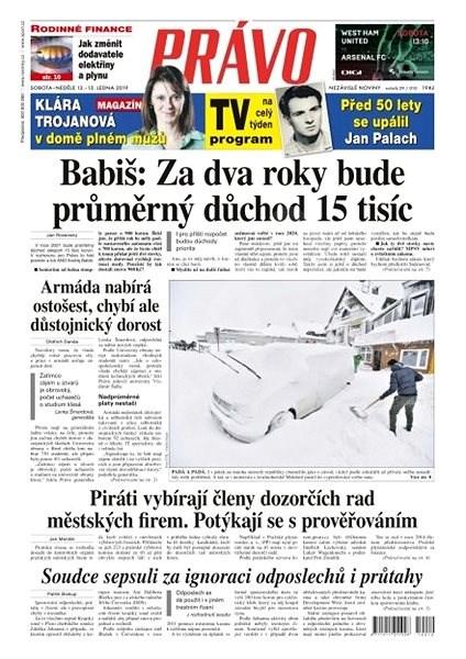 Právo - 12-01-2019 - Elektronické noviny