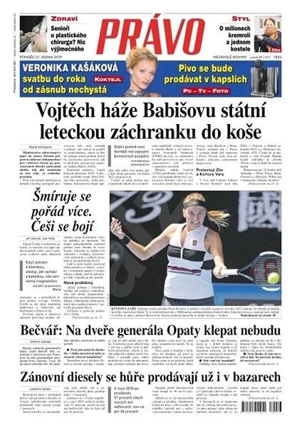Právo - 21-01-2019 - Elektronické noviny