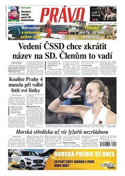 Právo - 25-01-2019 - Elektronické noviny