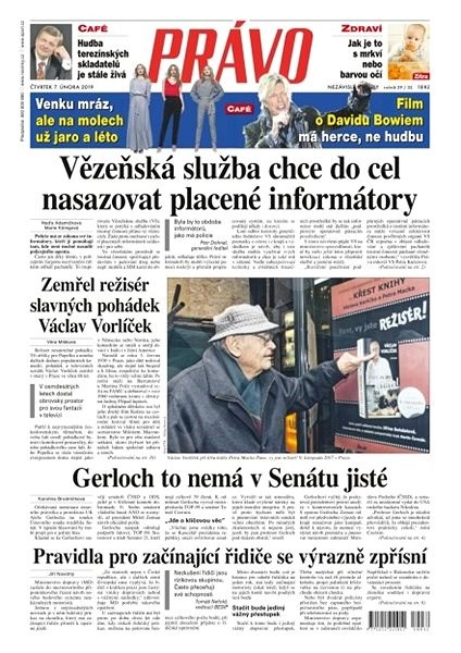 Právo - 07-02-2019 - Elektronické noviny