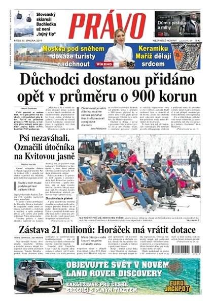 Právo - 15-02-2019 - Elektronické noviny
