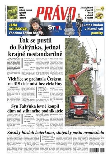 Právo - 12-03-2019 - Elektronické noviny