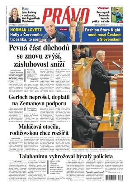 Právo - 21-03-2019 - Elektronické noviny