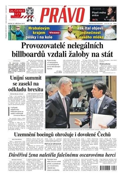 Právo - 22-03-2019 - Elektronické noviny