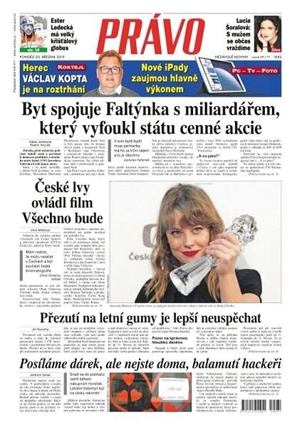 Právo - 25-03-2019 - Elektronické noviny