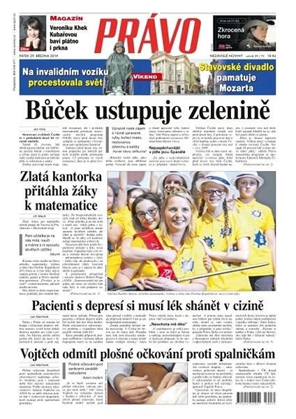 Právo - 29-03-2019 - Elektronické noviny