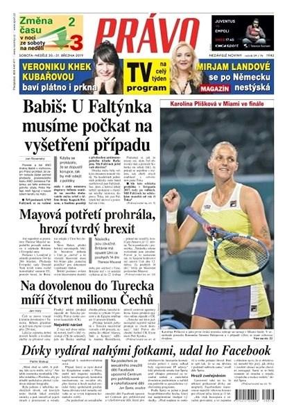 Právo - 30-03-2019 - Elektronické noviny