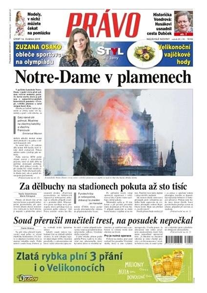 Právo - 16-04-2019 - Elektronické noviny
