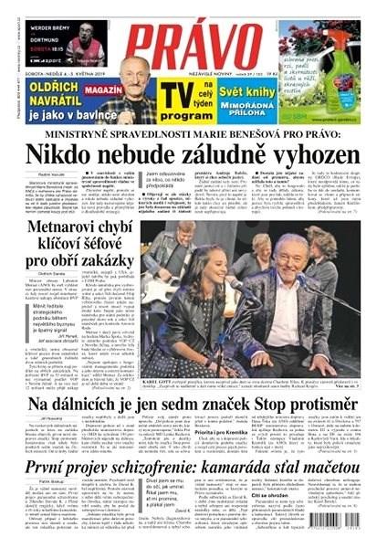 Právo - 04-05-2019 - Elektronické noviny