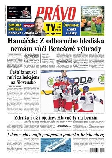Právo - 11-05-2019 - Elektronické noviny