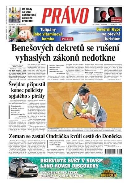 Právo - 17-05-2019 - Elektronické noviny