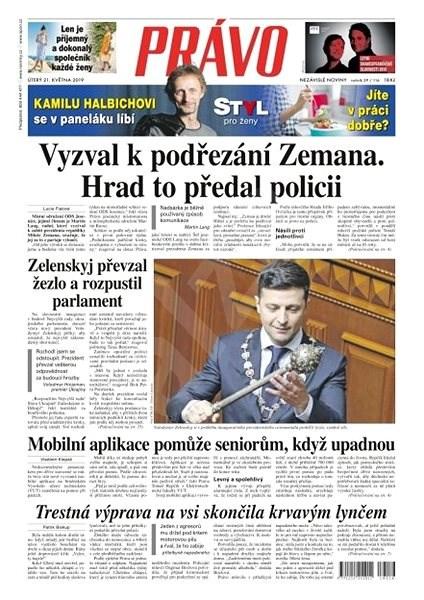 Právo - 21-05-2019 - Elektronické noviny