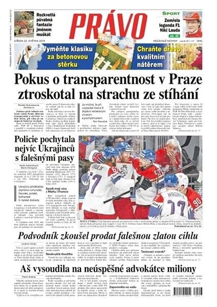 Právo - 22-05-2019 - Elektronické noviny