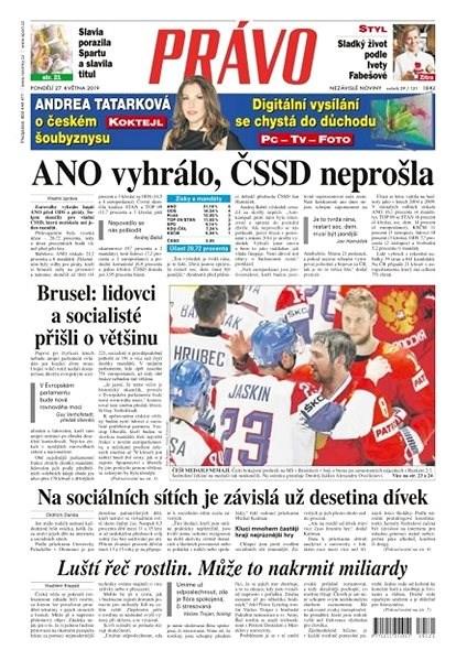 Právo - 27-05-2019 - Elektronické noviny