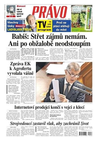 Právo - 01-06-2019 - Elektronické noviny