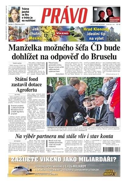 Právo - 07-06-2019 - Elektronické noviny