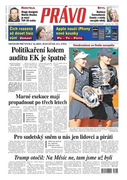 Právo - 10-06-2019 - Elektronické noviny