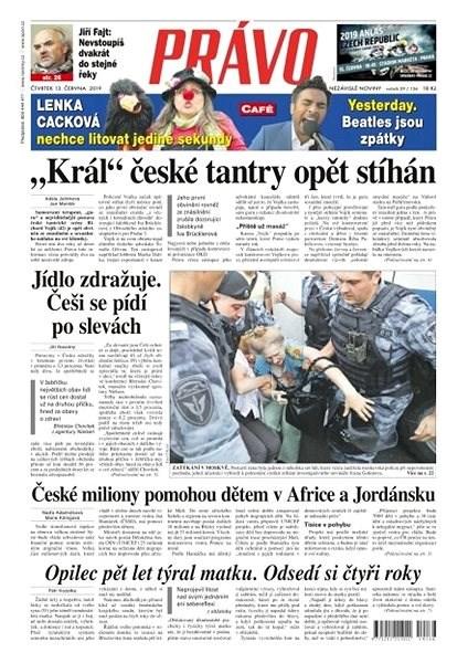 Právo - 13-06-2019 - Elektronické noviny