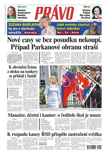 Právo - 17-06-2019 - Elektronické noviny