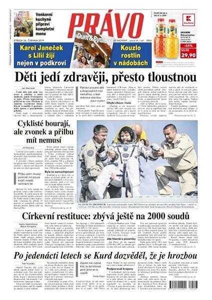 Právo - 26-06-2019 - Elektronické noviny