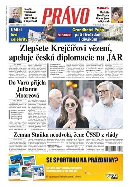 Právo - 28-06-2019 - Elektronické noviny