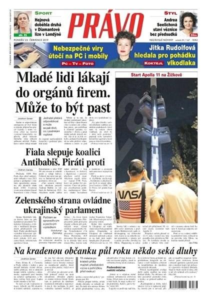 Právo - 22-07-2019 - Elektronické noviny