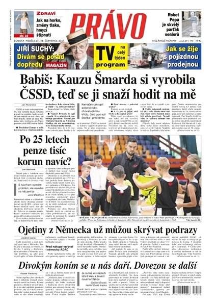 Právo - 27-07-2019 - Elektronické noviny