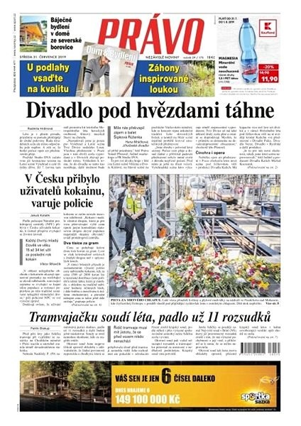 Právo - 31-07-2019 - Elektronické noviny